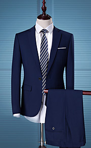 Men's Business Slim Suits - Solid