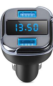 gps locator auto jager auto oplader dual usb telefoon oplader app afgelegen auto locatie detector met led display voor iphone samsung