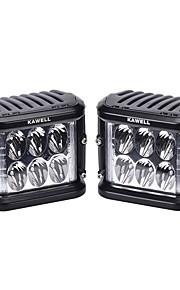 KAWELL Automatisch / Vrachtwagen Lampen 45W SMD LED 9 Mistlamp For Universeel / Algemene motoren Algemene motoren Universeel