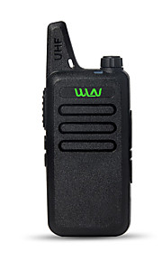 BAOFENG Walkie-talkie Håndholdt 1,5-3 km 1,5-3 km Walkie talkie Tovejs radio