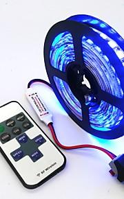 ZDM® 240 светодиоды Светодиодная лента 1M 1 пульт дистанционного управления Keys Тёплый белый Холодный белый Синий Можно резать