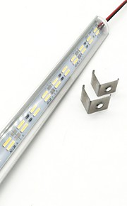 ZDM® 72 светодиоды 1x жесткая лента Тёплый белый Холодный белый DC 12V