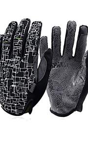 SPAKCT Dotykové rukavice Sportovní Celý prst Rukavice touchscreen Propustnost vůči vlhkosti Odolný proti opotřebení Trávová zelená Stříbrná Červená Syntetická kůže Outdoor a turistika Volnočasov