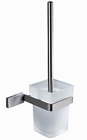 Toilet Brushes & Holders Modern / Contemporary Stainless Steel 1 pc - Hotel bath