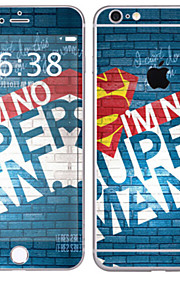 1 pezzo Autoadesivo della Pelle per Anti-graffi Lolita A fantasia PVC iPhone 6s Plus/6 Plus