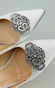 2pcs Rhinestones Decorative Accent Women's All Seasons Wedding Vacation White Black