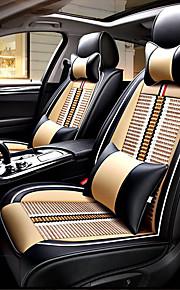 Sædeovertræk til din bil nakkestøtter Taljepuder Sædebetræk Tekstil PU Læder Til Universel Alle år Alle Modeller