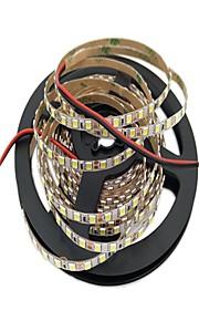 Гибкие светодиодные ленты 600 светодиоды Светодиодная лента 5M Белый Можно резать Самоклеющиеся Подсветка для авто Декоративная DC 12 В