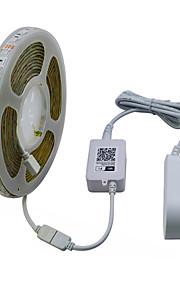 JIAWEN 5 М RGB ленты 300 светодиоды RGB Можно резать Водонепроницаемый Контроль APP Самоклеющиеся Декоративная 120-240V