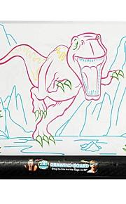 YIJIATOYS Piirustus lelu Piirustustabletit Värikynä Lelut Dinosaurus Eläimet Klassinen teema Fantasia Muoti Family Maalaus Kiilto Strange