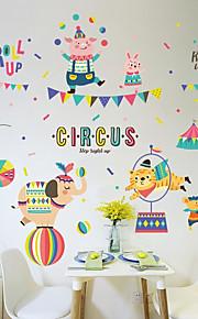 Adesivi decorativi da parete - Adesivi murali animali Animali Salotto Camera da letto Bagno Cucina Sala da pranzo Sala studio / Ufficio