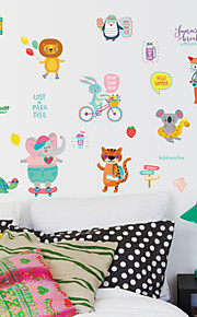 Adesivi decorativi da parete - Adesivi murali animali Animali Caratteri Salotto Camera da letto Bagno Cucina Sala da pranzo Sala studio /