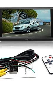 ZIQIAO 7inch LCD Ledning Car Reversing Monitor LCD-skærm for Bil