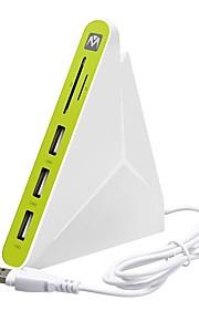 3 Hub USB USB 2.0 USB 2.0 Con lettore di schede (s) Data Hub