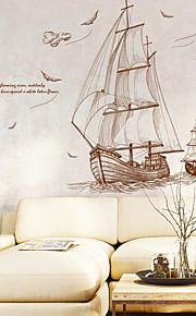 Adesivi decorativi da parete - Adesivi murali animali Paesaggi Nautico Salotto Camera da letto Bagno Cucina Sala da pranzo Sala studio /