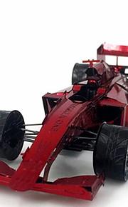 3D palapeli Luova Focus Toy Käsin tehty Ajoneuvot Aslustan malli Lelu Formula 1 -auto Lahja