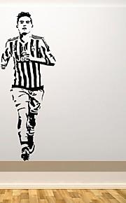 Adesivi decorativi da parete - Adesivi aereo da parete Adesivi murali persone Riproduzione Football americano Salotto Camera dei bambini