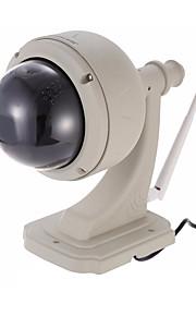 wanscam® waterdichte 720p 1.0mp ptz draadloze beveiliging ip camera (15m nachtzicht / alarm / p2p / support 128gb tf-kaart)