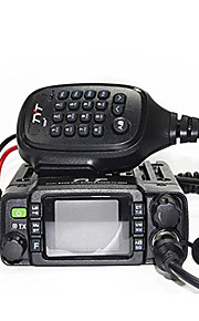 TYT TH-8600 UHF VHF No Waterproof Walkie-talkie Køretøjsmonteret Dual-band 200 25W Walkie talkie Tovejs radio