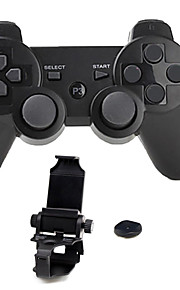 Trådløs Håndtagskonsol / Game Controllers Til Sony PS3, Bluetooth Bærbar Håndtagskonsol / Game Controllers ABS 1pcs enhed USB 3.0