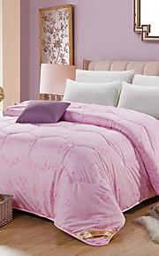 Comfortabel - 1 bedsprei Winter Polypropyleen / Polyester Bloemen
