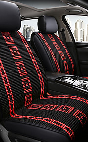 ODEER Car Seat Cushions Seat Covers Black / Red Textile Common for universal All years All Models