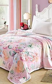 Comfortabel - 1 bedsprei Zomer Microvezel Bloemen