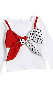 dcb8b31b7ea 34 Μωρό Κοριτσίστικα Βασικό Μονόχρωμο Μακρυμάνικο Ακρυλικό / Πολυεστέρας  Μπλούζα με Κουκούλα & Φούτερ Λευκό