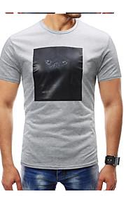 男性用 Tシャツ ラウンドネック グラフィック