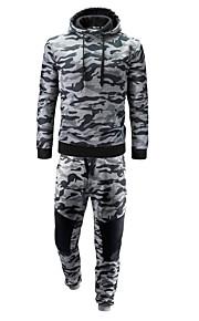 Hombre Casual / Chic de Calle Activewear camuflaje