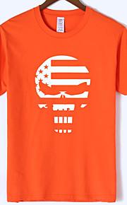 Ανδρικά T-shirt Νεκροκεφαλές Γκρίζο XL