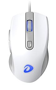dareu lm107 유선 usb 광학 게임 마우스 멀티 컬러 백라이트 800/1200/2000/3200 dpi 4 개의 조절 가능한 dpi 레벨 6 개 키
