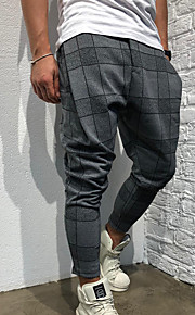 Erkek Sportif Chinos / Eşoğman Altı Pantolon - Desen Gri