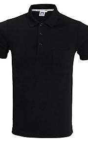 T-skjorte Herre - Ensfarget Gul XL