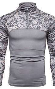 T-skjorte Herre - Fargeblokk, Lapper Svart XL