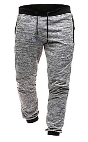 Hombre Deportivo Jogger / Pantalones de Deporte Pantalones - Foco Gris Oscuro