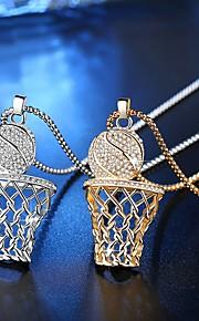 Dámské Průsvitné Geometrické Náhrdelník Moderní Cool Zlatá Stříbrná 30 cm Náhrdelníky Šperky 1ks Pro Denní