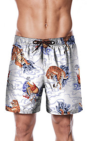 Herre Sporty / Basale Chinos / Shorts Bukser - Dyr Hvid