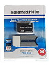 8GB Memory Stick PRO Duo card de memorie și adaptor Memory Stick Duo