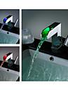 changement de couleur robinet évier cascade conduit salle de bains - Blade Series