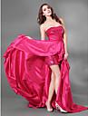 O rochie de seară tricotată de tricot, cu bandă de tricot, cu draperie de ts couture®