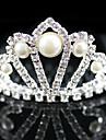 Jeune bouquetière Alliage / Imitation de perle Casque-Mariage / Occasion spéciale Tiare Clair