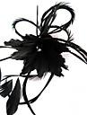 Cristal Pană Material Textil Diademe Palarioare Flori 1 Nuntă Ocazie specială Party / Seara Casual În aer liber Diadema