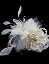 Cristal Pană Material Textil Satin Diademe Palarioare Flori 1 Nuntă Ocazie specială Party / Seara Diadema