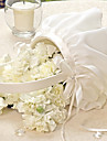 coș de flori elegant în fildes flori de flori feminin coș ceremonia de nuntă