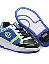 mellersta hjul rulle skor (svart, grön, blå)