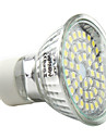 3W 250-300 lm GU10 LED-spotlights MR16 48 lysdioder SMD 3528 Naturlig vit AC 220-240V