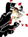 Inspirerad av Vampire Knight Ichiru Kiryu Animé Cosplay-kostymer cosplay Suits Skoluniformer Lappverk Långärmad Kappa Väst Skjorta Byxor