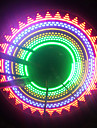 Cykellyktor hjul lampor Blinkande ventil LED Cykelsport AAA Lumen Batteri Cykling