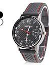 Bărbați Ceas de Mână Japoneză Quartz Silicon Bandă Negru